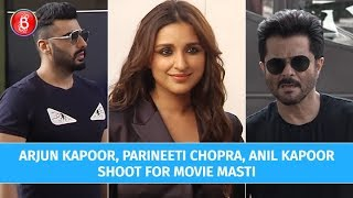 Arjun Kapoor, Parineeti Chopra, Anil Kapoor Rock Maniesh Paul's Movie Masti Show