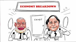 Economy Breakdown Under Modi Govt | This is Modi's New India