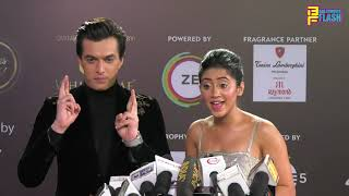 Mohsin Khan & Shivangi Joshi At 12th Gold Awards 2019 - Full Interview
