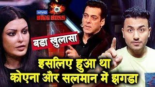 FIGHT Between Koena Mitra And Salman Khan; Here's What Exactly Happened | Bigg Boss 13 update