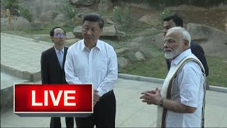 PM Modi LIVE | Chinese President Jinping visit world heritage sites in Mamallapuram, Tamil Nadu