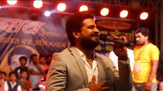 Ritesh Pandey & Poonam Dubey  - नवरात्रि के दिन दिल्ली में स्टेज शो। Kirari - Delhi ( 7/10/2019 )