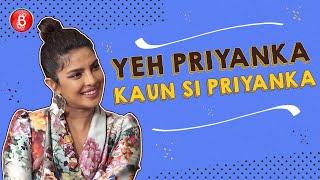 Priyanka Chopra Plays The Fun Game Of Yeh Priyanka Kaun Si Priyanka | The Sky Is Pink