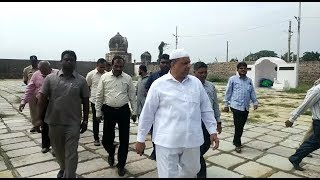 Waqf Board Chairman Md Saleem Finally AT Raushan Ud Daula Tombs  @ SACH NEWS  