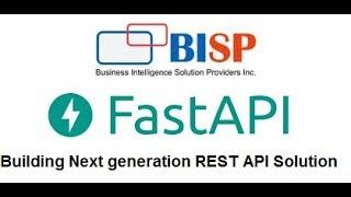 FASTAPI | Python FASTAPI | Python REST API