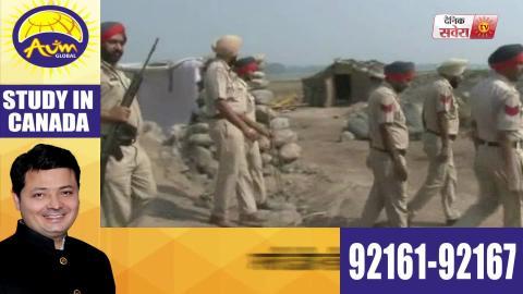 Dera Baba Nanak में High Alert, Punjab Police का Search Operation जारी
