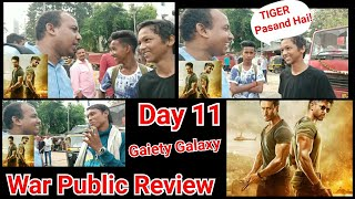 War Movie Public Review 11th Day First Show At Gaiety Galaxy Theatre Mumbai