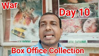 War Box Office Collection Day 10 In India