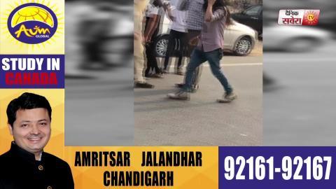 Breaking: Dakha में Capt. Sandeep Sandhu के Office के बाहर हंगामा, Sikh नौजवान की उतरी पगड़ी