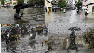 Heavy Rain At Bhubaneswar//ପ୍ରବଳ ବର୍ଷା ଭୁବନେଶ୍ବରରେ ।