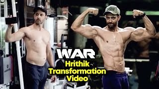 Hrithik Roshan Amazing Transformation For WAR | FAT To FIT
