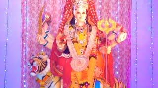 माँ दुर्गा के लाइव दर्शन | Navratri Special Video | Jai Mata Di - Mata Rani Ki Murti - Live Darshan
