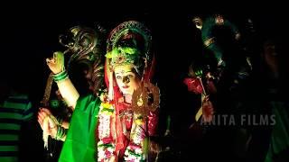 नवरात्रि दुर्गा विसर्जन | माँ दुर्गा विसर्जित | माता जी की विदाई का लाइव वीडियो | Maa Durga Visarjan