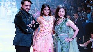 Tanisha Mukherjee Walks For Malik At Bombay Times Fashion Week 2019