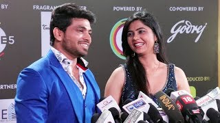 Bigg Boss Marathi 2 Winner Shiv Thakare With Veena Jagtap At 12th Gold Awards 2019 | Red Carpet