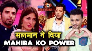 Salman Khan GIVES Mahira Sharma BIG POWER; Here's What | Weekend Ka Vaar | Bigg Boss 13
