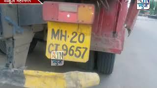 नागपूर-मुंबई महामार्गावरील खोजेवाडी फाटा येथे अपघात..भरधाव ट्रकने दुचाकीला उडवले...