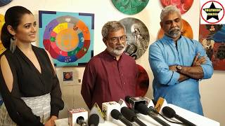 "Girija Oak & Vasudeo Kamath inaugurated  ""Naari Narayani – Dwitiya"" Group show"