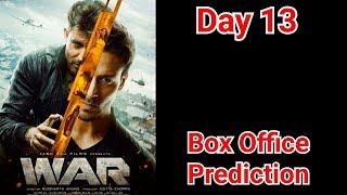 War Movie Box Office Prediction Day 13