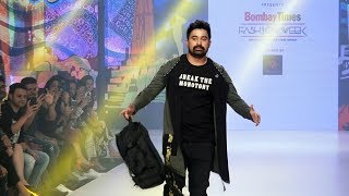 Rannvijay Singh Walks The Ramp At Bombay Times Fashion Week 2019