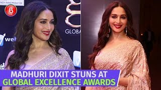 Madhuri Dixit Stuns At The 2nd Edition Of The Global Excellence Awards