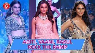 Aditi Rao Hydari, Vaani Kapoor, Ileana D'Cruz & Rakul Preet Singh Rock The Ramp