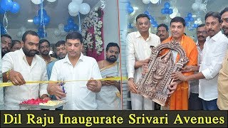 Producer Dil Raju Inaugurates Srivari Avenues || Bhavani HD Movies