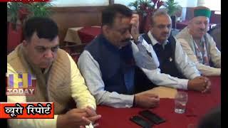 14 OCT N 16 END सोलन में  बैठक में राठौर ने भाजपा पर जम कर निशाने साधे