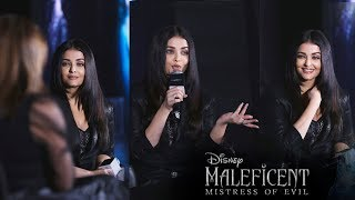 Maleficent: Mistress Of Evil Hindi Trailer Launch | Aishwarya Rai Bachchan