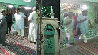 RAJA SINGH VISITED AHMED SHAHI MASJID AT DHOOLPET | DONATES FOR THE MASJID |