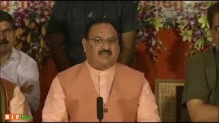 भाजपा सरकार ने जय जवान-जय किसान के नारे को साकार किया है: श्री जे पी नड्डा, चंडीगढ़