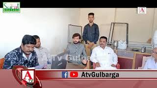 Voter ID Verification Camp Ward No 15 at Qureshi Function Hall Gulbarga A.Tv News 14-10-2019