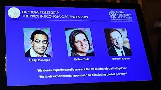Abhijit Banerjee, Esther Duflo, Michael Kremer win 2019 Nobel Economics Prize