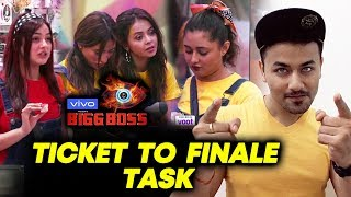 Ticket To Finale Task | Which Girl Will Go To Finale? | Bigg Boss 13 Update