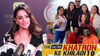 Anita Hassanandani Reaction On Khatron Ke Khiladi Season 10 | Karan Patel | Rohit Shetty