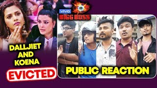 Dalljiet And Koena EVICTED | Public Reaction | Bigg Boss 13
