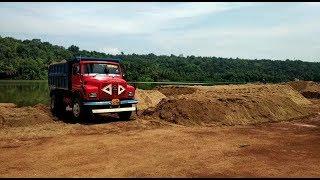 Mines Dept Seizes Illegal Sand Stock, Locals Demand Regularisation Of Sand Mining