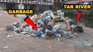 While Tar River Dies A Slow Death, Garbage Woes Add On To It!