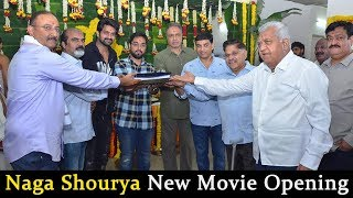 Naga Shourya New Movie Opening by Allu Aravind | Dil Raju