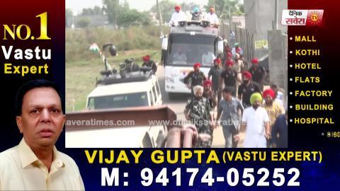 Exclusive: Dakha में Sandeep Sandhu के हक में CM Captain का Road Show
