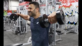 Complete Shoulder Gym Workout! Day-40 (Hindi / Punjabi)