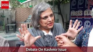 Kashmir Debate In Press Club Of India With Shahid Imran