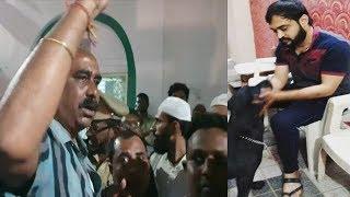 Masjid  Mein Azaan Rukane Ki Koshish AT Hussainialam   Masjid E Roshan Hussainialam   @ SACH NEWS  