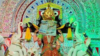 Maa Laxmi  with Sri Jagannath | Gaja Laxmi Puja Pandal | Kendrapara , Odisha | Satya Bhanja