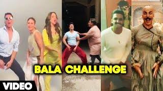 Varun Dhawan, Ranveer Singh, Kareena & Kiara Advani Take Akshay Kumar's Bala Challenge
