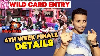 4th Week Finale Details | NEW Wild Card Entries & Evicted Contestant | Bigg Boss 13 Update