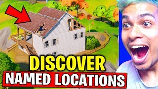 DISCOVER NAMED LOCATIONS CHALLENGES (NEW WORLD MISSION) FORTNITE CHAPTER 2 SEASON 1