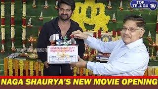 Hero Naga Shaurya's New Movie Opening | Telugu New Movie Openings | Tollywood | Top telugu TV