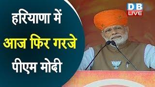 PM Modi addressed election rally in Haryana's Charkhi Dadri |बेटी बचाओ-बेटी पढ़ाओ अभियान की तारीफ की