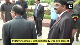 NSA Ajit Doval having candid conversation with Chiefs of Defence Forces